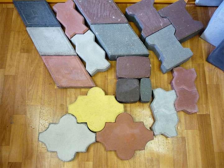 Популярные формы тротуарной плитки