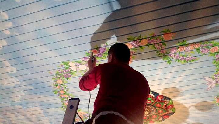 Стилизация потолка