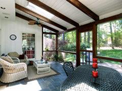Из чего сделать потолок на веранде – выбираем материалы