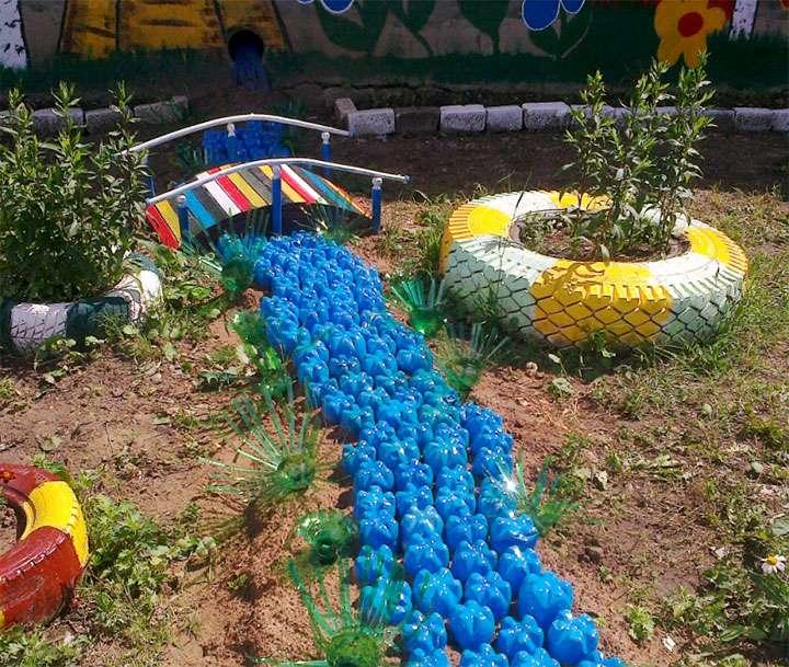 Дорожка на детской площадке