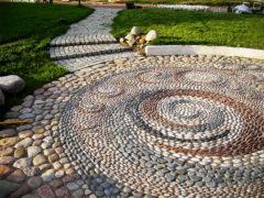 Выбираем камни для создания садовой дорожки своими руками