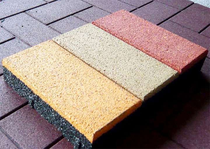 Образцы резинового покрытия