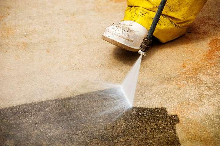 Очистка напольного покрытия