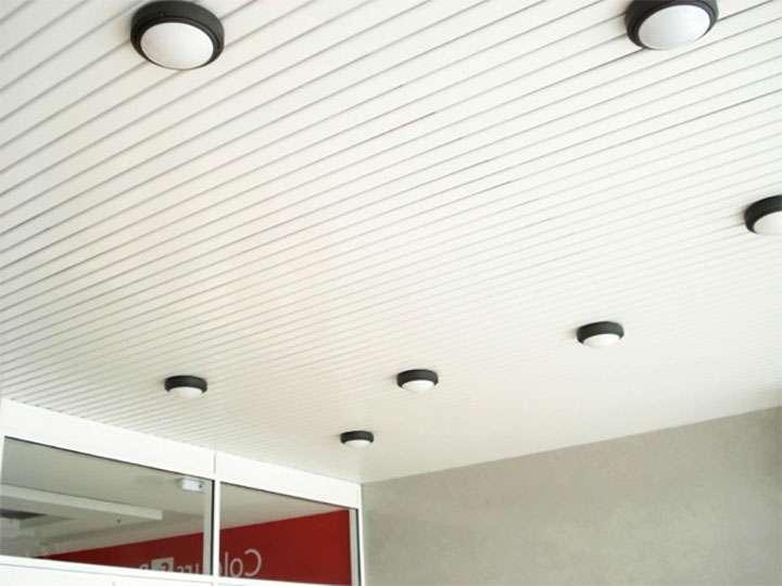 Подвесной потолок из металлического профиля