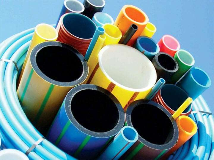 Разные виды пластиковых труб