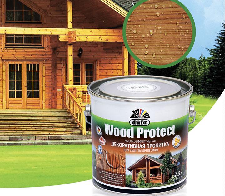 Декоративная пропитка Dufa Wood Protect