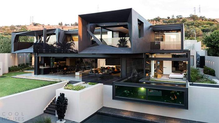 Современный стиль дома