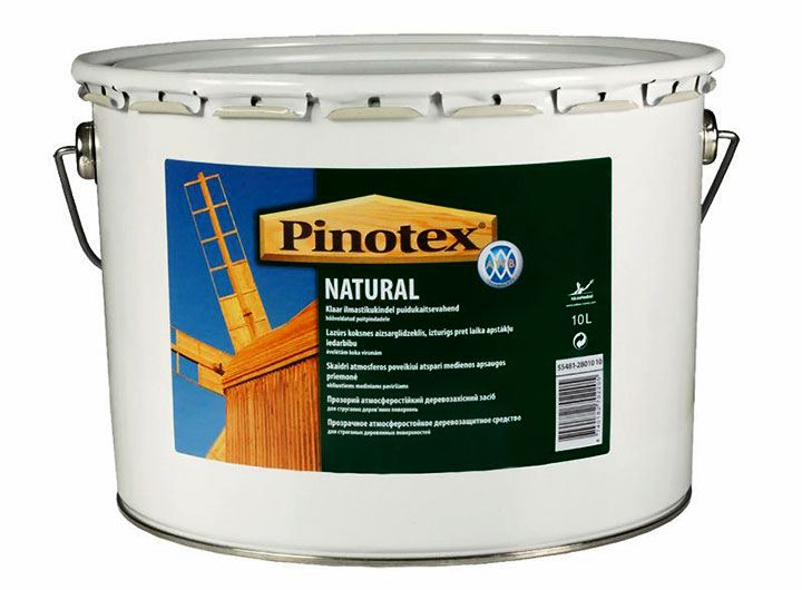 Пропитка для дерева Pinotex Natural