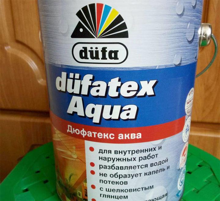 Бесцветная пропитка Dufatex aqua