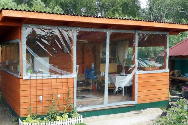 Окна ПВХ для веранд и террас