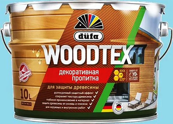 Декоративно-защитная пропитка на алкидной основе «dufa WOODTEX»