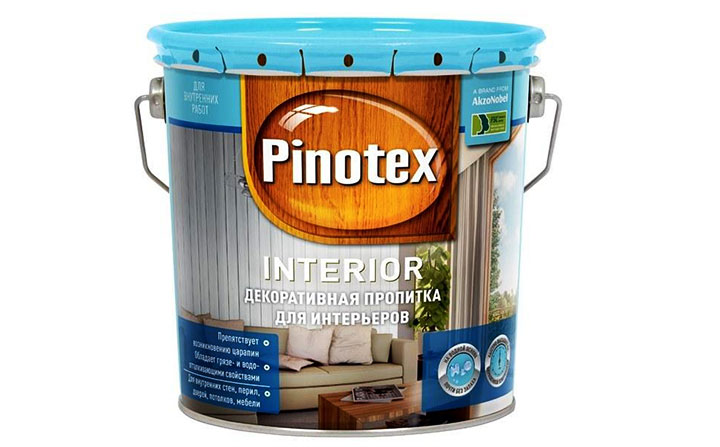 Пропитка на водной основе ‒ Pinotex Interior
