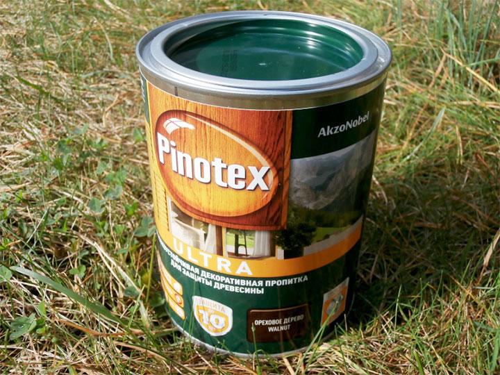 Защита для древесины Pinotex Ultra