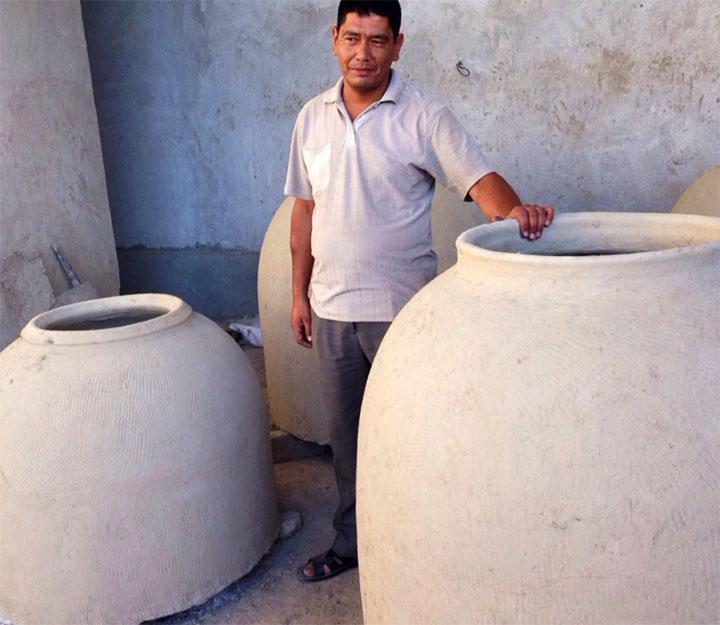 Глиняный тандыр для дома