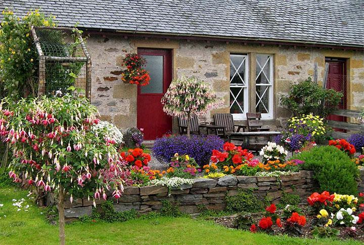 Декорирование двора