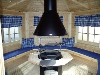 Финский гриль-домик