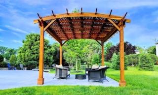 Проект деревянной перголы